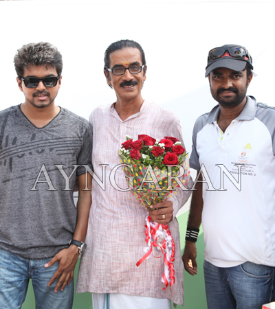 Actor Manobala Birthday Celebration held