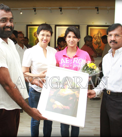 AP Sreethars Art House exhibition held