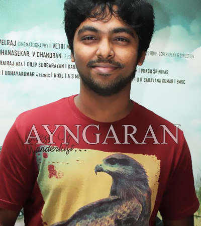 GV Prakash starts work on Vijay's film
