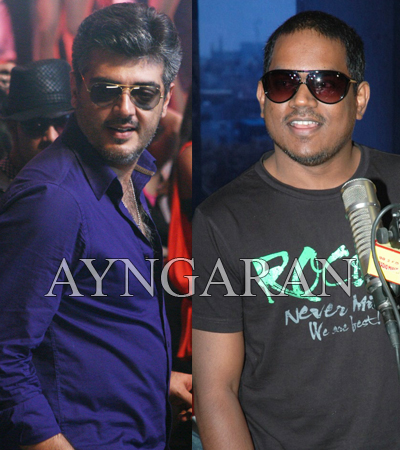 Yuvan's hat trick with Ajith