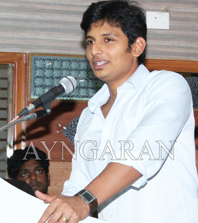 Actor Jiiva celebrated his birthday