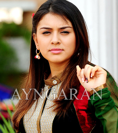 Hansika is very busy