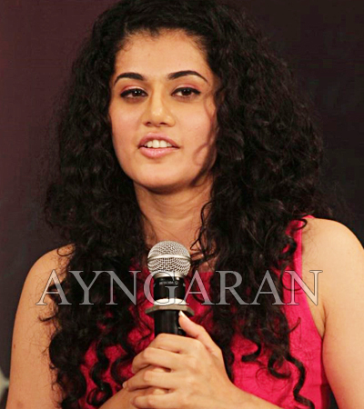 Tapsee busy with her promotions