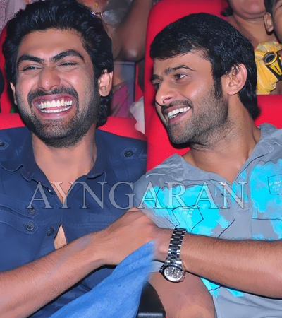 Rana and Prabhas sport a different look
