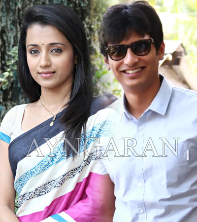 Jiiva and trisha on a tour