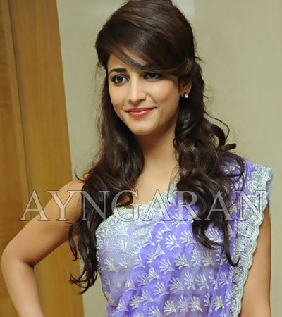 Shruthi very happy on signing