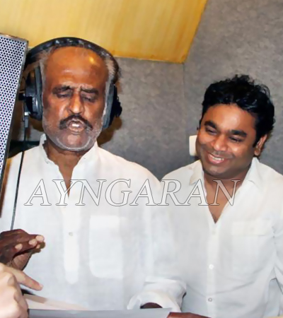 Rajini sings in Hindi