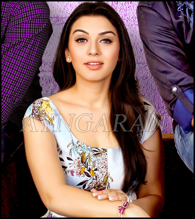 Hansika the IT girl
