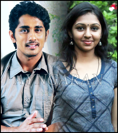 Siddarth and Lakshmi menon in madurai