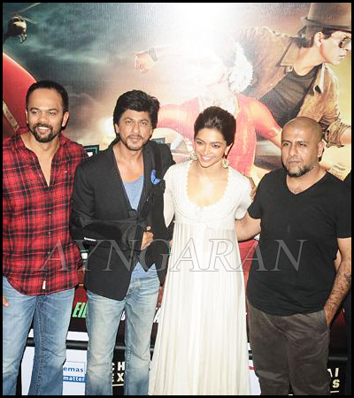 Chennai Express Trailer Launched