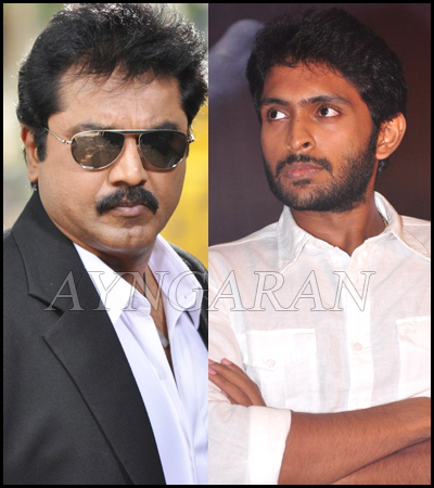 Vikram Prabhu along with Sarathkumar