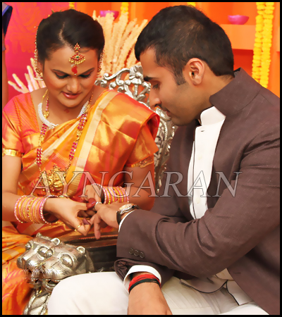 Actor Nandha Engagement held