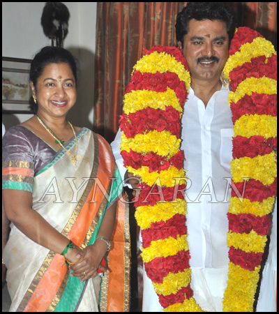 R Sarathkumar celebrated his 59th Birthday