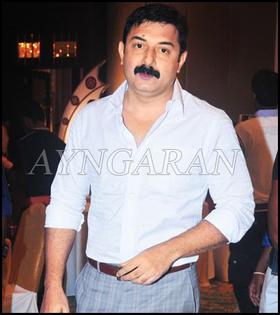 Aravindswamy ready for the next round