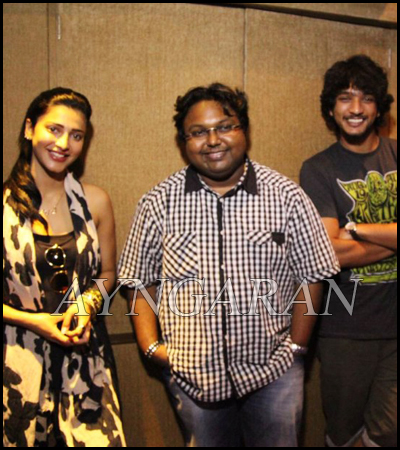 Shruti Haasan sings for Gautham Karthik's New movie