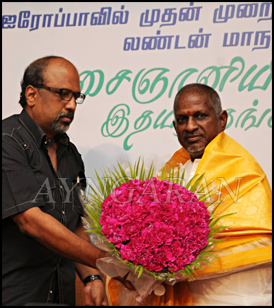 Music maestro Illayaraja press meet held