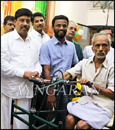 Tamil Film Director Pandiraj Independence Day Celebration held
