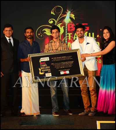 Big Tamil Melody Awards 2013 Function held
