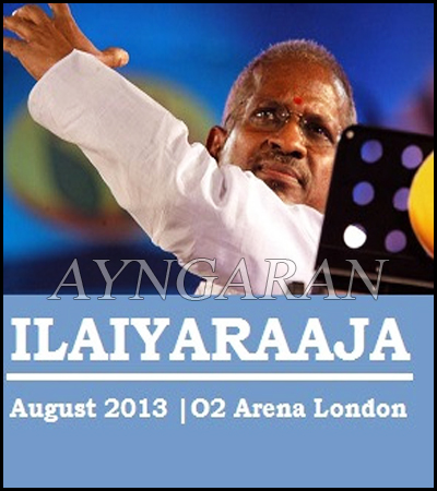 Ilaiyaraaja live in London on 24th August ( News from Kollytalk.com )
