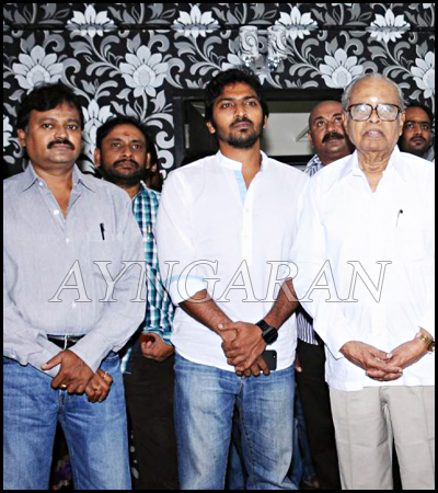 Production No.1 Movie Pooja held