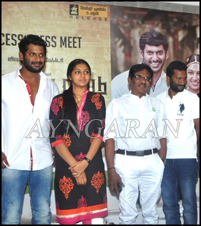 Pandianadu Success Meet held
