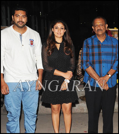 Jayam Ravi & Nayanthara Movie Launched