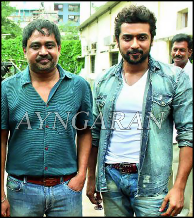 Suriya's Next titled Intro song shoot