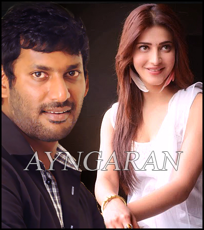 After NSM Vishal pair up with Shruthi Hassan