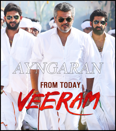 VEERAM is all set for a worldwide release today