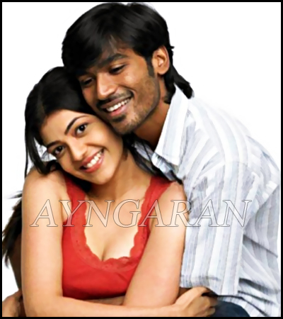 Dhanush pair up with Kajal Agarwal