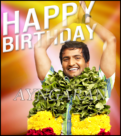 Happy Birthday to Santhanam