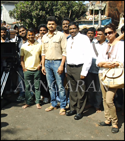 Vijay & ARM Untitled Project Pooja held today