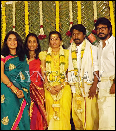 Actor Kreshna gets married