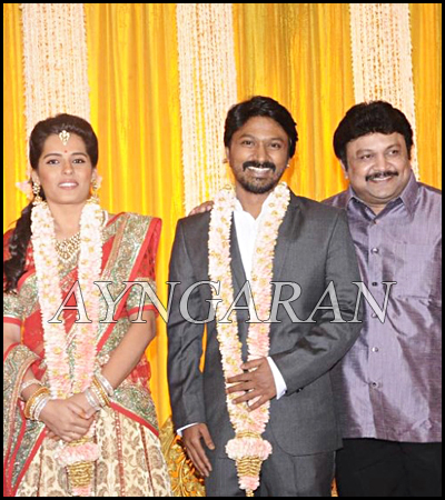 Actor Kreshna Wedding Reception held