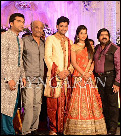 Simbu's Sister Ilakiya Wedding Reception held