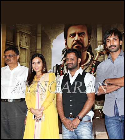 Kochadaiiyaan team Press Meet held
