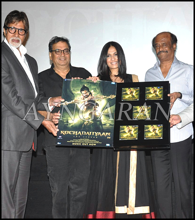 Kochadaiiyaan Hindi Trailer Launched