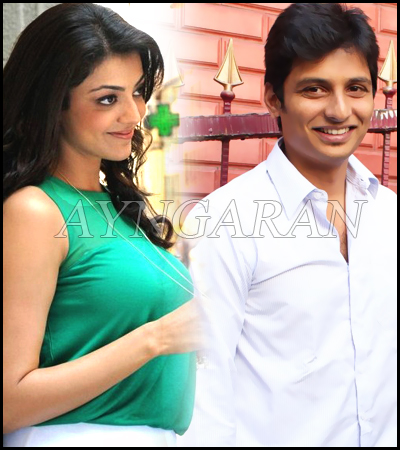 Jiiva pairs up with Kajal