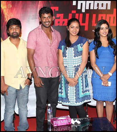 Naan Sigappu Manithan Press Meet held