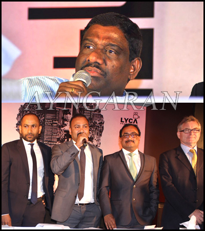 Lyca Productions press meet held