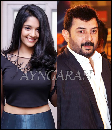 Arvind Swamy - Rithika Singh for director Selva's next