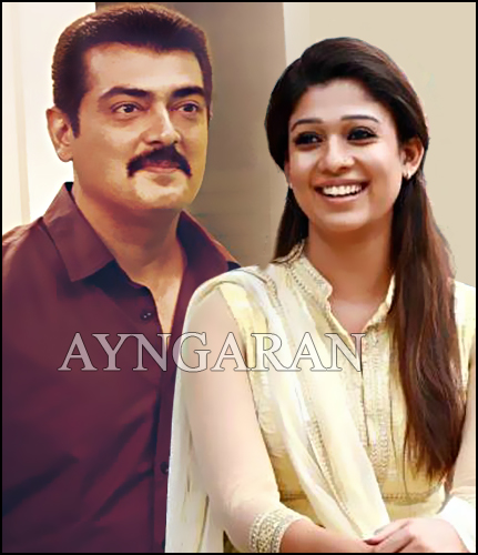 Nayanthara to pair up with Ajith for the 4th time
