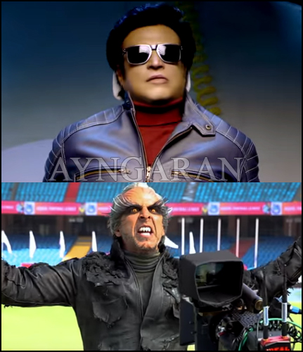 Rajinikanth's 2.0 Making Video Part -4 released