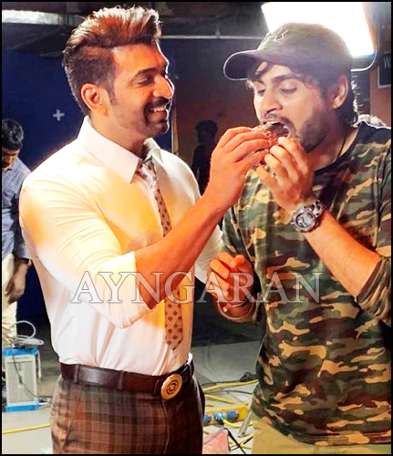 "Arun Vijay wrapped up his portions for prabhas starring ""Saaho"""